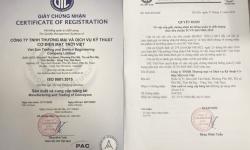 Giấy chứng nhận hệ thống quản lý chất lượng theo tiêu chuẩn TCVN ISO 9001:2015